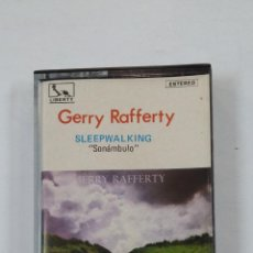 Casetes antiguos: GERRY RAFFERTY - SLEEPWALKING. SONANBULO. CASETE. TDKV46. Lote 195150518