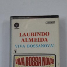 Casetes antiguos: LAURINDO ALMEIDA - VIVA BOSSANOVA. BOSSA NOVA. CASETE. TDKV46. Lote 195150631