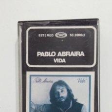 Casetes antiguos: PABLO ABRAIRA – VIDA. CASETE. TDKV38. Lote 195152558