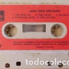 Casetes antiguos: VARIOUS - JAZZ NEW ORLEANS (CASS) LABEL:MODE CASSETTES CAT#: 9. M. 07 . Lote 195163290