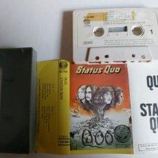 Casetes antiguos: STATUS QUO-CASSETTE QUO. Lote 195173431