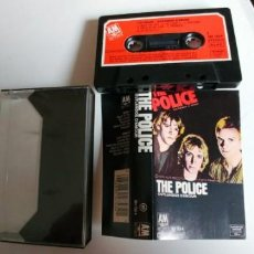 Casetes antiguos: THE POLICE-CASSETTE OUTLANDOS D'AMOUR. Lote 195176141