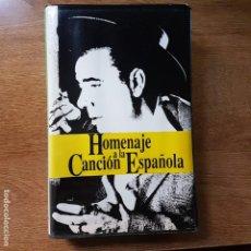Casetes antiguos: ESTUCHE CON 4 CASETES HOMENAJE A LA CANCIÓN ESPAÑOLA. Lote 195186092