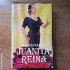 Casetes antiguos: ESTUCHE CON 4 CASETES HOMENAJE A JUANITA REINA. Lote 195186308