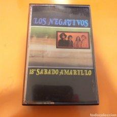 Casetes antiguos: LOS NEGATIVOS- 18° SÁBADO AMARILLO (1987). Lote 195214435
