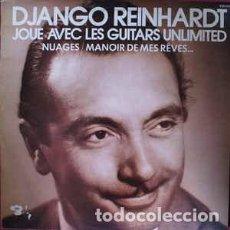 Casetes antiguos: DJANGO REINHARDT JOUE AVEC LES GUITARS UNLIMITED CASSETTE. Lote 195237698