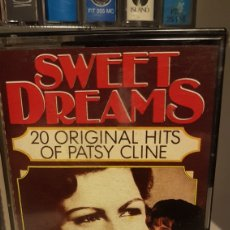 Casetes antiguos: PATSY CLINE...SWEET DREAMS 20 ORIGINAL HITS OF PATSY CLINE. Lote 195327866