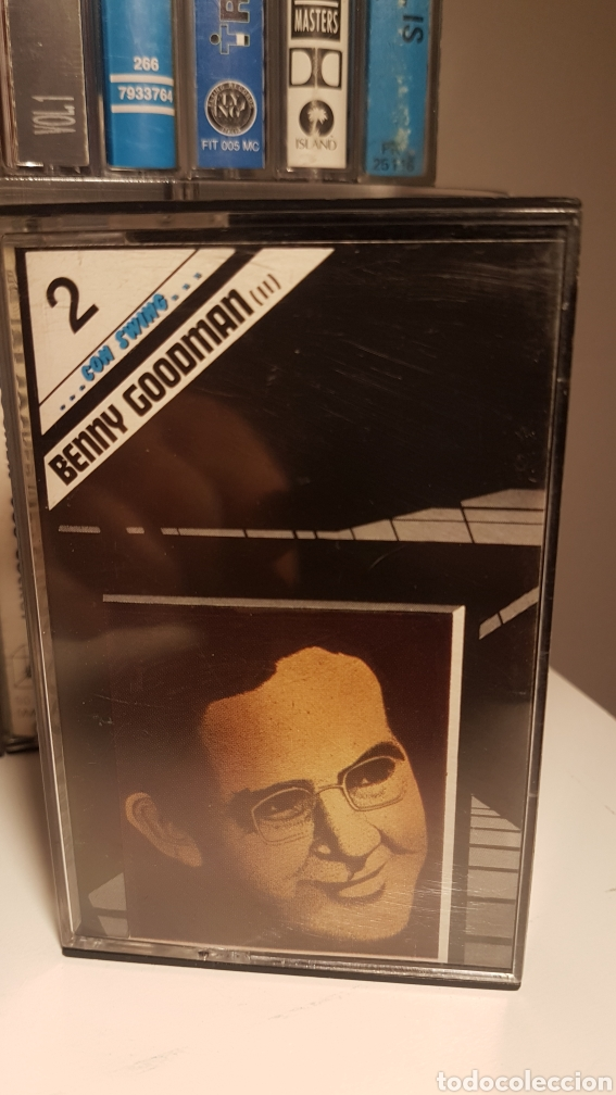 Casetes antiguos: Benny goodman .con swing..vol 2 - Foto 1 - 195330850