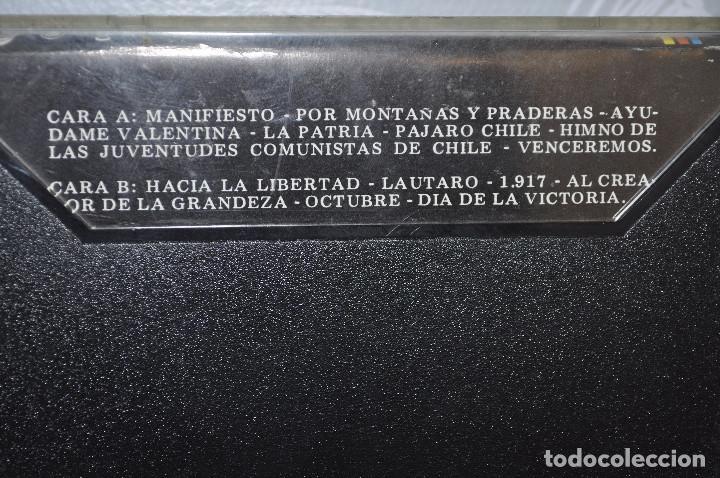 Casetes antiguos: CASETE CANTO A LA REVOLUCION DE OCTUBRE: vICTOR jARA, qUILPAYUN, ETC... - Foto 2 - 195338555