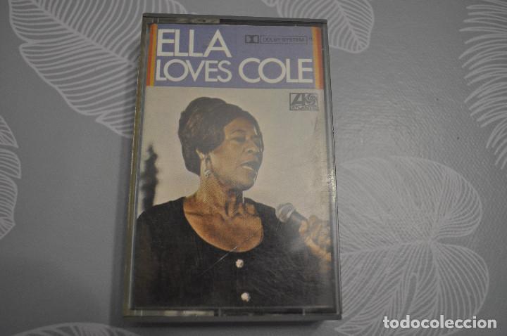 ELLA FITZGERALD, ELLA LOVES COLE. (Música - Casetes)