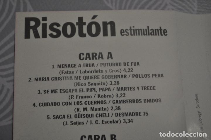 Casetes antiguos: CASETE RISOTÓN PUBLICIDAD.PUTURRU DE FUA, MARTES Y TREC, MANOLITO ROYO, ETC... - Foto 3 - 195338758