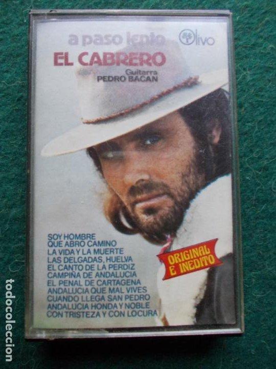 EL CABRERO A PASO LENTO (Música - Casetes)