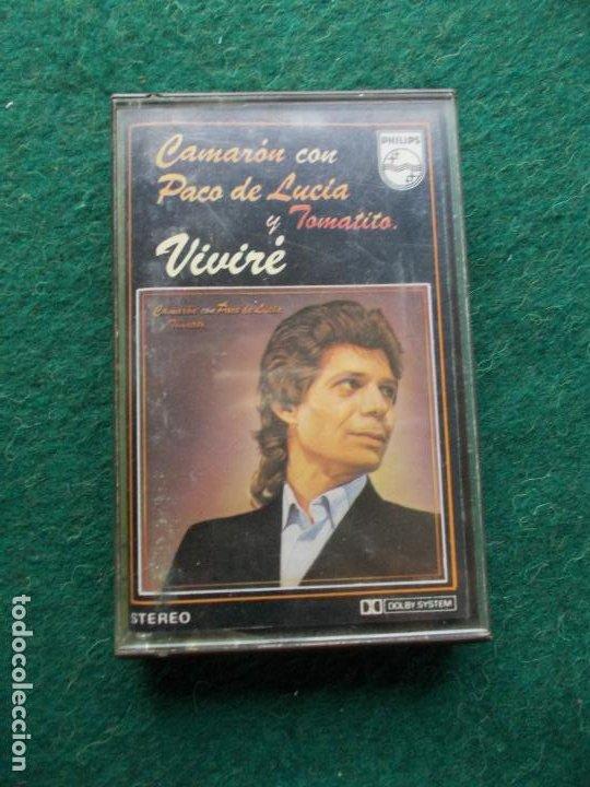 CAMARÓN VIVIRE (Música - Casetes)