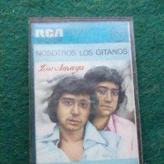 Casetes antiguos: LOS AMAYA NOSOTROS LOS GITANOS . Lote 195381578