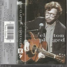 Casetes antiguos: ERIC CLAPTON - UNPLUGGED (CASSETTE WEA ALEMANIA). Lote 195395055