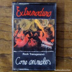 Casetes antiguos: CASETE - EXTREMODURO - COMO ANIMALES - ROCK TRANSGRESIVO - 1989 - HARD ROCK, ROCK DURO. Lote 195426573