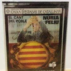 Casetes antiguos: CINTA CASETE CASSETTE - EL CANT DEL POBLE - SANT BOI 1976 - NÚRIA FELIU PRODUCCIONS,1977. PRECINTADO. Lote 195450355
