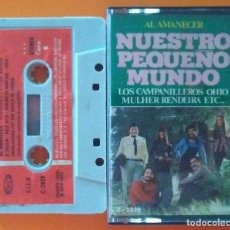 Casetes antiguos: NUESTRO PEQUEÑO MUNDO AL AMANECER MOVIEPLAY 1973. Lote 195493172