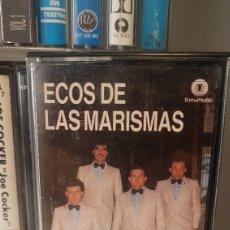 Casetes antiguos: ECOS DE LAS MARISMAS. SEVILLANAS. Lote 195533748