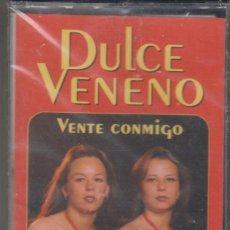 Casetes antiguos: DULCE VENENO CASSETTE VENTE CONMIGO 1996 PRECINTADO. Lote 195535548