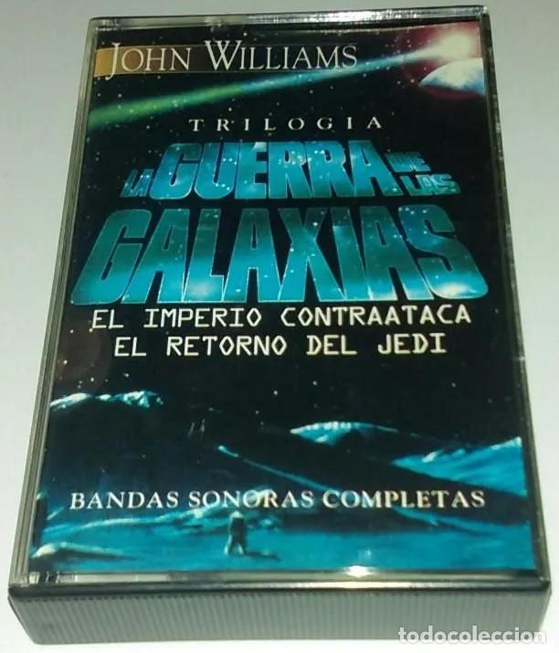 'TRILOGÍA LA GUERRA DE LAS GALAXIAS', DE JOHN WILLIAMS. 8 TEMAS EDITADO POR HORUS EN 1997 COMO NUEVA (Música - Casetes)