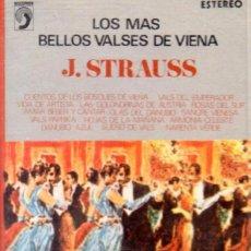 Casetes antiguos: 'LOS MÁS BELLOS VALSES DE VIENA', DE J. STRAUSS. 14 TEMAS. DISCOPHON. 1973. BUEN ESTADO.. Lote 195755577