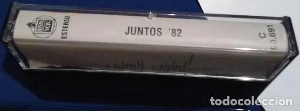 Casetes antiguos: Juntos 82 Alaska y Pegamoides, Massiel, Miguel Rios, Yuri, Juan Pardo, etc. 12 temas Hispavox 1973 - Foto 3 - 195757491