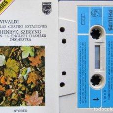 Casetes antiguos: VIVALDI - LAS CUATRO ESTACIONES. Lote 196557773