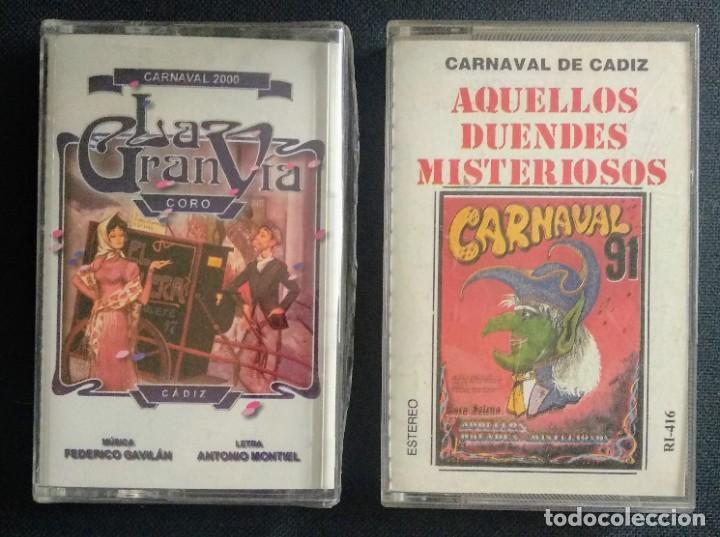 LOTE COROS SAN FERNANDO CARNAVAL CÁDIZ (Música - Casetes)