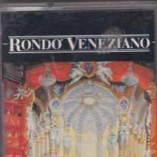 Casetes antiguos: RONDÓ VENEZIANO - POESÍA DI VENEZIA - CASSETTE . Lote 197034875