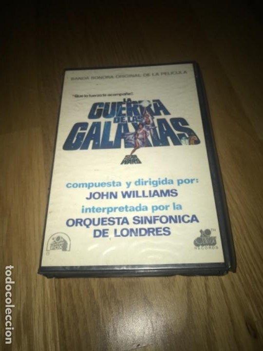 Casetes antiguos: Star wars BANDA SONONORA DOS CINTAS CASSETTES Y ESTUCHE AÑOS 70 80 - Foto 8 - 197367782