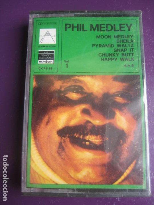 PHIL MEDLEY AND THE M.V.B ORCHESTRA & CHORUS CASETE PYRAMID 1978 PRECINTADA - HAPPY WALK - FUNK SOUL (Música - Casetes)