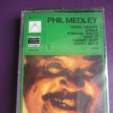 Casetes antiguos: PHIL MEDLEY AND THE M.V.B ORCHESTRA & CHORUS CASETE PYRAMID 1978 PRECINTADA - HAPPY WALK - FUNK SOUL. Lote 197596601