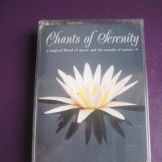 Cassettes Anciennes: DENNIS SCOTT CASETE NATURE'S HARMONY 1996 PRECINTADA - CHANTS OF SERENITY - NEW AGE - . Lote 197652330