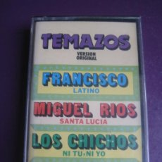 Casetes antiguos: TEMAZOS PHILIPS CASETE PRECINTADA - FRANCISCO - MIGUEL RIOS - LOS CHICHOS - ETC POP ROCK 80'S. Lote 197656421