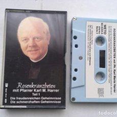 Cassettes Anciennes: ROSENKRANZBETEN MIT PFARRER KAL M HARRER - CINTA CASETE CASSETTE KREATEN. Lote 197952728