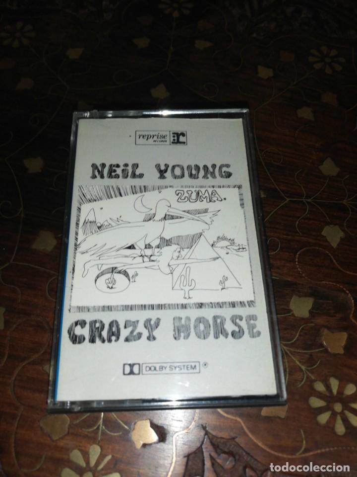 NEIL YOUNG WITH CRAZY HORSE , ZUMA (Música - Casetes)