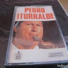 Casetes antiguos: PEDRO ITURRALDE -PACO DE LUCIA GUITARRA. Lote 198538133