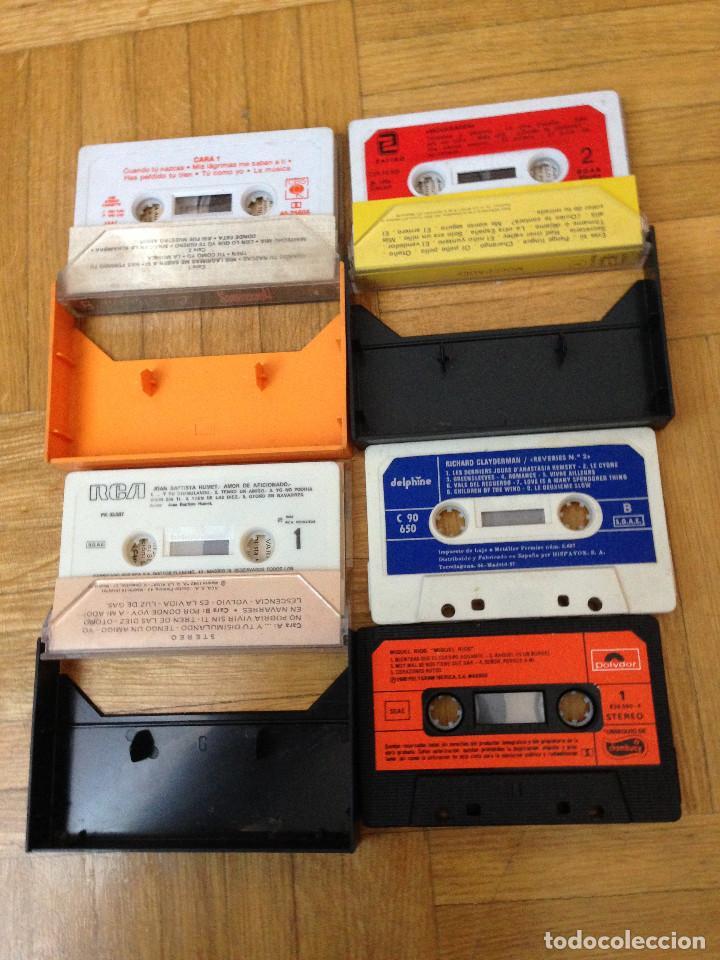 Casetes antiguos: LOTE DE 4 CASETES-CASSETES.MOCEDADES-HUMET-MIGUEL RIOS-RICHARD CLAYDERMAN. - Foto 2 - 198549957