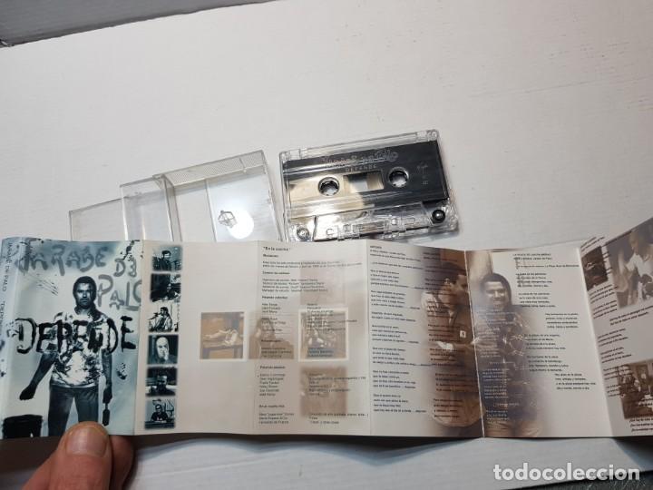 Casetes antiguos: Cassette-JARABE DE PALO-DEPENDE en funda original año 1998 - Foto 2 - 198572108