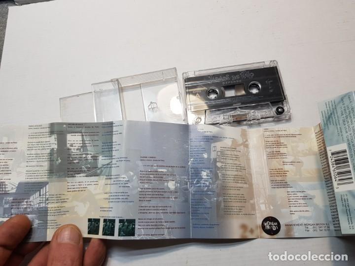 Casetes antiguos: Cassette-JARABE DE PALO-DEPENDE en funda original año 1998 - Foto 3 - 198572108