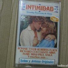 Casetes antiguos: INTIMIDAD 1979 - CANCIONES DE AMOR - ABBA - BAGLIONI - COCCIANTE - ERIC CARMEN... Lote 198665278