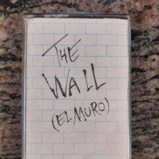 Casetes antiguos: CASSETE PINK FLOYD. THE WALL (EL MURO). USADA. Lote 199748532