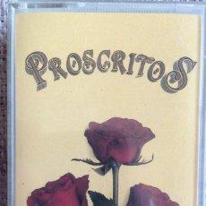 Casetes antiguos: PROSCRITOS - POBRES SUEÑOS - CASETE - GRABACIONES INTERFERENCIAS, 1990 EDICIÓN ESPAÑOLA. Lote 199749075
