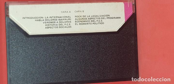 Casetes antiguos: SERIE HABLAN LOS PARTIDOS 8: HABLA DOLORES IBARRURI. PARTIDO COMUNISTA DE ESPAÑA VOL. 1 - Foto 2 - 199854555