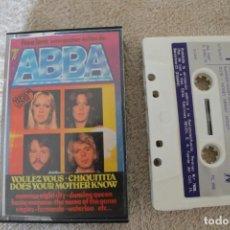 Casetes antiguos: CASETE EXITOS DE ABBA VERSIÓN COVER INTERPRETAN FREE LOVE. Lote 200726875
