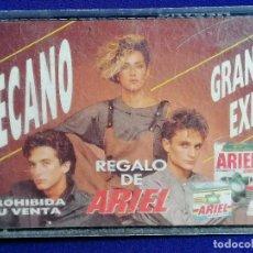 Casetes antiguos: MECANO -GRANDES EXITOS- REGALO DE ARIEL. Lote 201170332