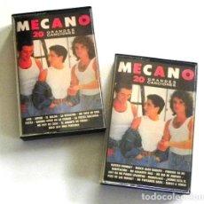 Casetes antiguos: MECANO 20 GRANDES CANCIONES 1 2 GRUPO ESPAÑOL MÚSICA POP CASETE CINTA ANA TORROJA CANO AÑOS 80 AIRE. Lote 201324083