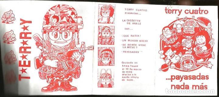 Casetes antiguos: CASETE TERRY CUATRO : PAYASADAS NADA MAS / LA CASETE DE ARALE - Foto 2 - 201535705