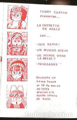 Casetes antiguos: CASETE TERRY CUATRO : PAYASADAS NADA MAS / LA CASETE DE ARALE - Foto 3 - 201535705
